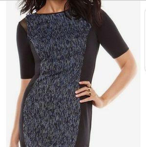 NWT Elie Tahari Color Block Dress